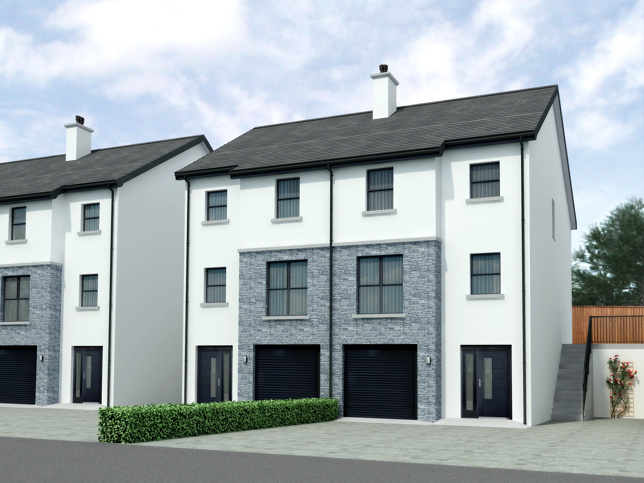 New Development At Parkmore Drive Cullybackey Road