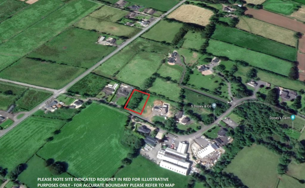 Image of Building Site 65m N/W of 5 Presbytery Lane, Dunloy, Co Antrim, BT44 9DZ